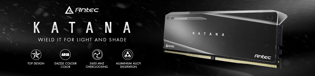 Antec Katana RGB 16GB (2x8GB) DDR4 3600MHz
